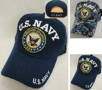 Licensed US Navy Hat [Seal] *Assorted Colors